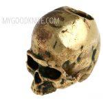 Фотография #5 Lanyard Bead Skull small, bronze