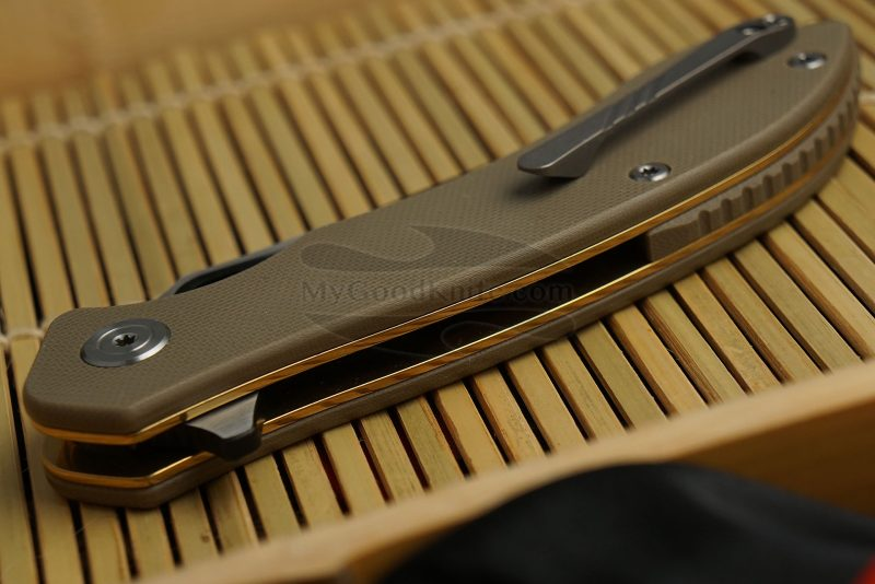 Фотография #3 Складной нож CIVIVI Aquilla Бежевый C805C 8.8см