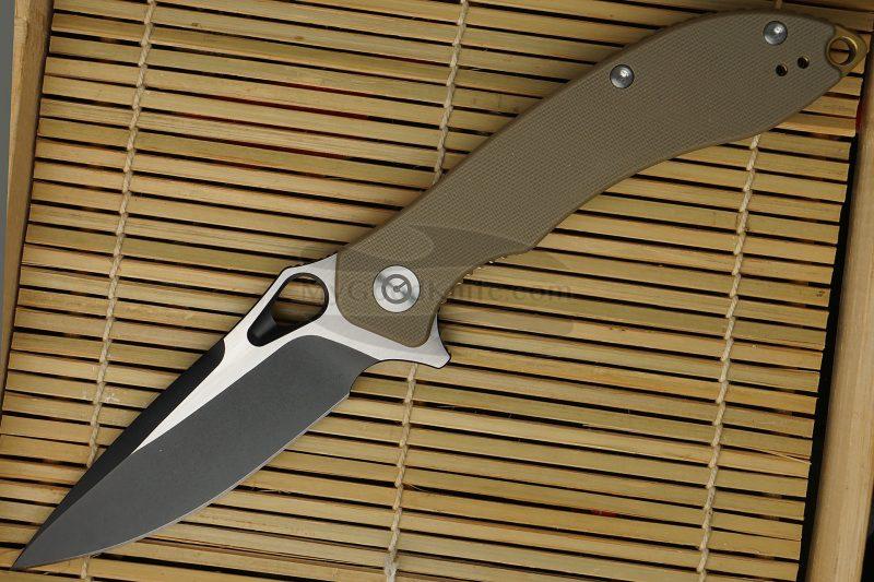 Фотография #1 Складной нож CIVIVI Aquilla Бежевый C805C 8.8см