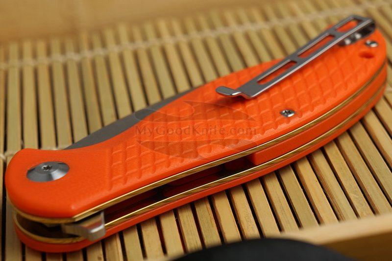 Фотография #3 Складной нож CIVIVI Naja оранжевый C802A 9.5см
