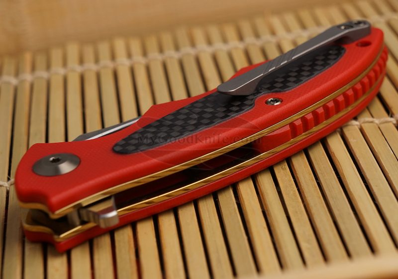 Photo #3 Folding knife CIVIVI Shard Red C806D 7.5cm