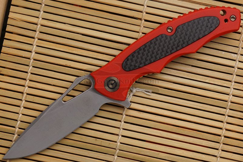 Photo #1 Folding knife CIVIVI Shard Red C806D 7.5cm