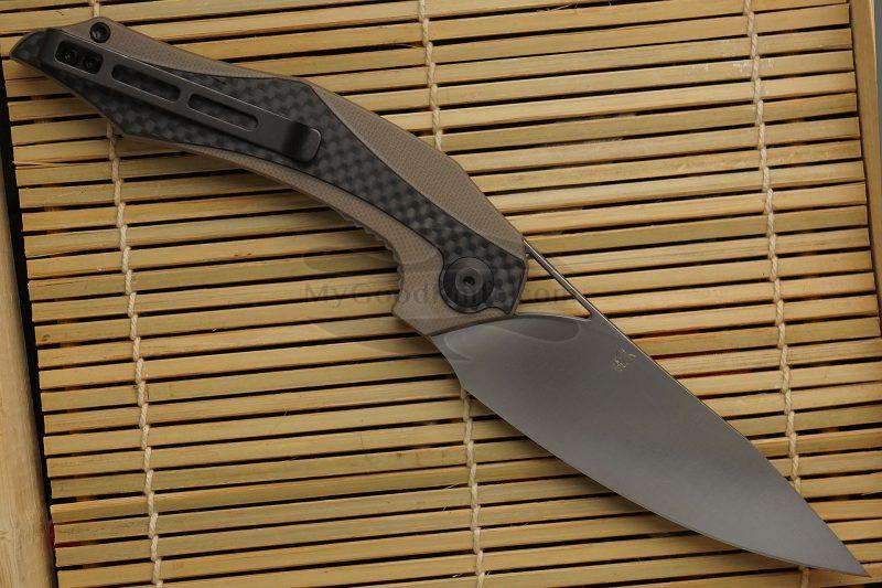 Фотография #2 Складной нож CIVIVI Plethiros Бежевый C904A 8.9см