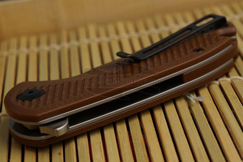 Фотография #3 Складной нож CIVIVI Durus, коричневый C906B 7.6см
