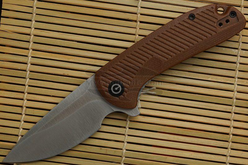 Фотография #1 Складной нож CIVIVI Durus, коричневый C906B 7.6см