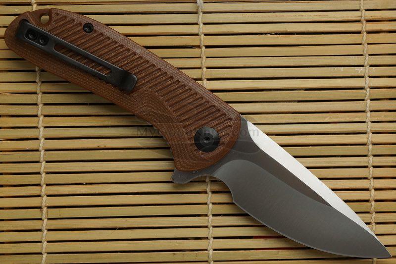 Фотография #2 Складной нож CIVIVI Durus, коричневый C906B 7.6см
