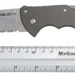 Photo #2 Cold Steel Code 4 Spear Point  Half Serrated 58TPSH
