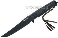 Tactical knife kizlyar supreme croc aus-8  black