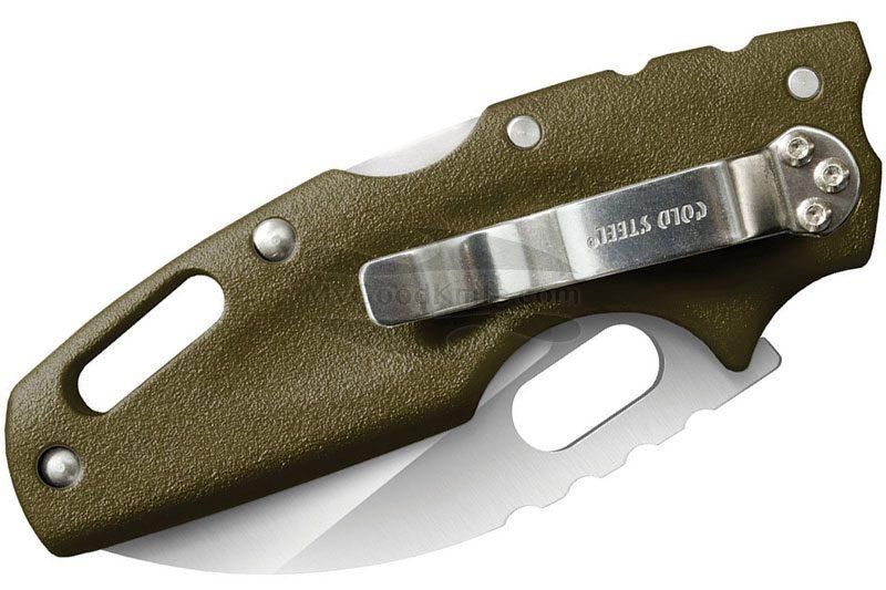 Photo #2 Folding knife Cold Steel Tuff Lite Green 20LTG 6.4cm
