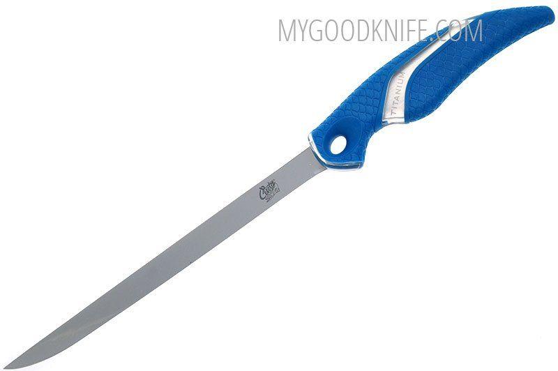 Valokuva #2 Cuda 9″ Titanium Bonded Flex Fillet Knife