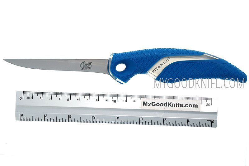 Фотография #3 Cuda 4″ Titanium Bonded Fillet Knife