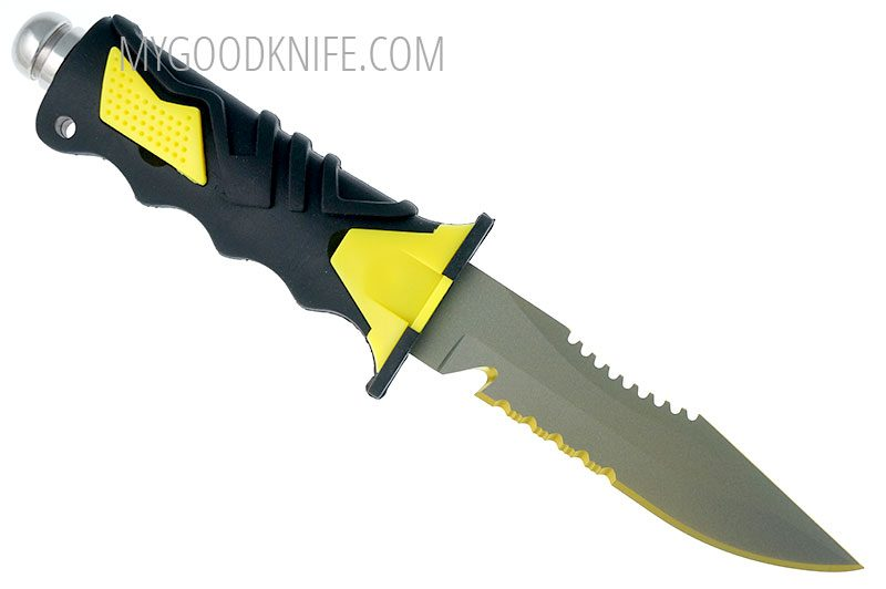 Photo #5 Ocean Master Dive Knife (QT500SAW)