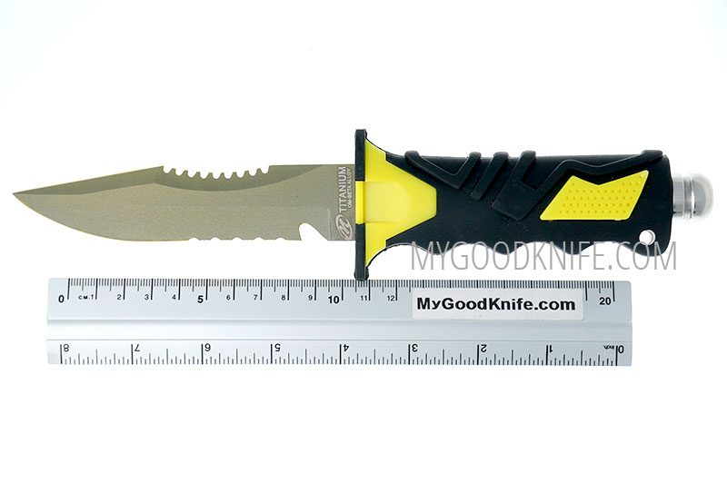 Photo #4 Ocean Master Dive Knife (QT500SAW)