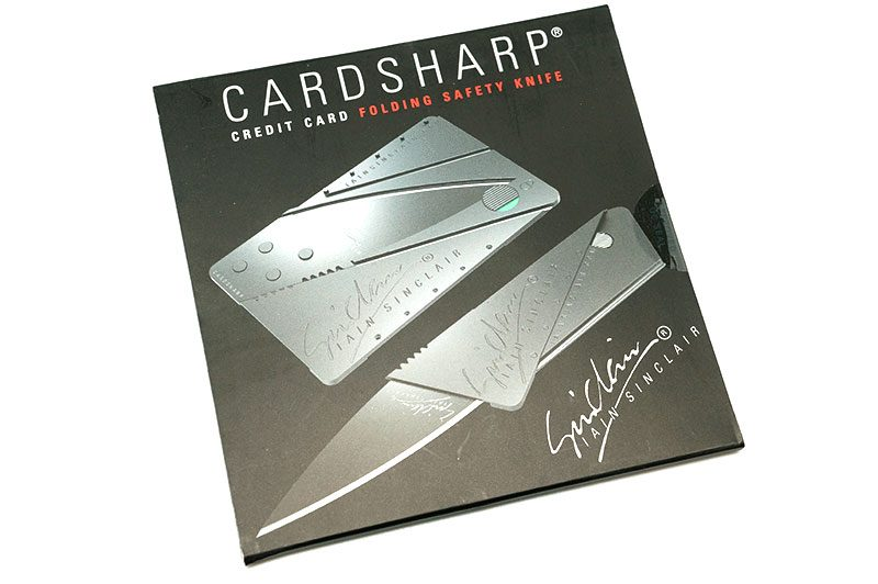 Photo #1 Iain Sinclair CardSharp2 Credit Card Folding Safety  Black (IS1B)