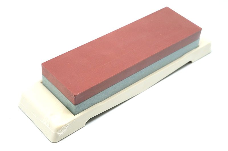 Photo #1 Tojiro Whetstone with Platform,  220/1000 grit (F-432)