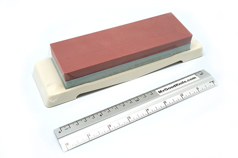 Photo #3 Tojiro Whetstone with Platform,  220/1000 grit (F-432)