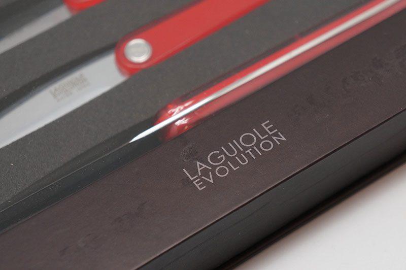 Фотография #3 Tarrerias-Bonjean Laguiole Sens Ножи для стейка, 6 шт., красные (449183)