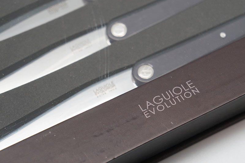 Photo #2 Tarrerias-Bonjean Set of 6 Steak knives Laguiole Sens Black (449186)