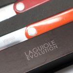 Photo #4 Tarrerias-Bonjean Set of 6 Steak knives Laguiole Sens Assorted colours (449180)