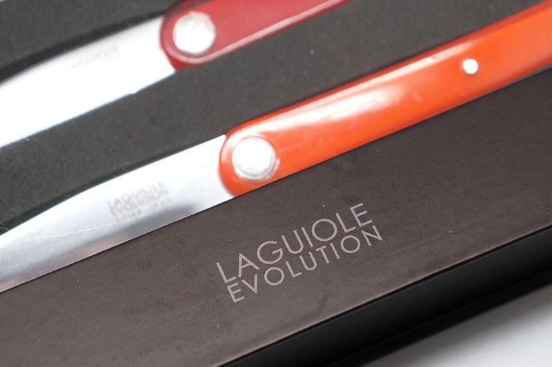 Фотография #4 Tarrerias-Bonjean Laguiole Sens Ножи для стейка, 6 шт., разноцветные  (449180)