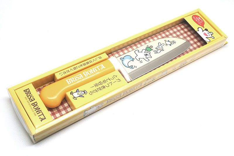 Photo #1 Tojiro Brisa Bonita Yellow Santoku (BB-10)