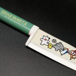 Фотография #1 Tojiro Brisa Bonita Детский кухонный  нож (зеленый)  (BB-4)