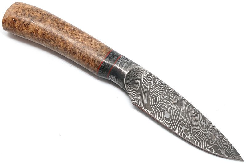 Photo #1 Browning Storm Front Damascus Drop Point (BR219)