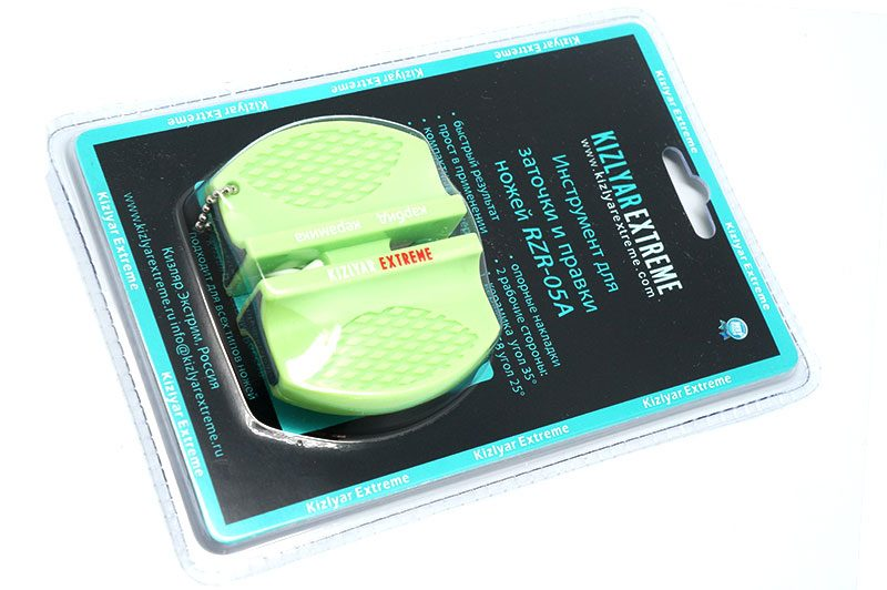 Photo #1 Kizlyar Extreme compact sharpener RZR-05A (green)