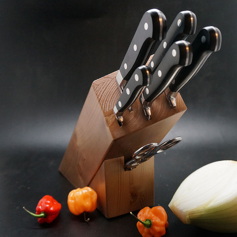 Photo #1 Martinez&Gascon Knife Block Virola (0912)