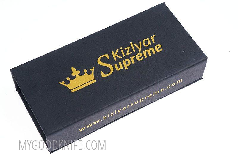 Photo #5 Bloke X AUS-8 Black Titanium Kizlyar Supreme