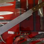 Photo #1 Ontario Old Hickory Beet Field Knife 11″ Blade with Dig Hook