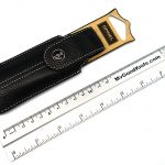 Photo #1 Opinel Chic Black Leather Knife Sheath  (001546)