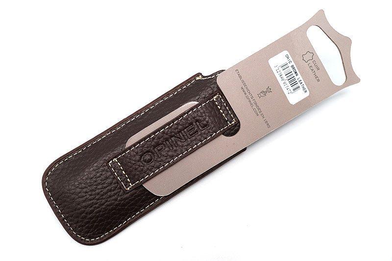 Photo #1 Opinel Chic Brown Leather Knife Sheath  (001547)