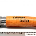 Valokuva #1 Opinel Carbon Blade No7 Folding Knife (113070)