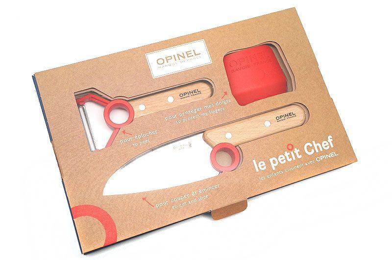 Photo #1 Opinel Le Petit Chef Set  (001746)