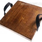 Photo #1 EtuHOME Heritage Square Cross Cut Serving Board