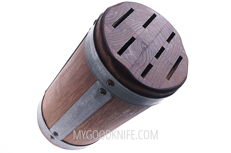 Photo #1 EtuHOME Round Galvi Knife Block