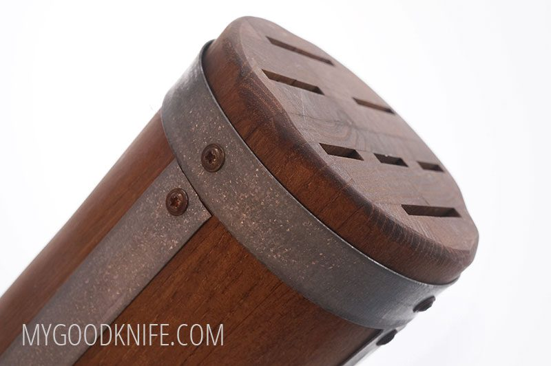 Photo #2 EtuHOME Round Galvi Knife Block