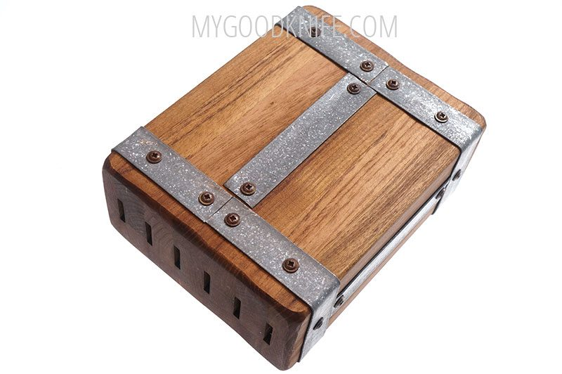 Photo #1 EtuHOME Rectangle Galvi Steak Knife Block