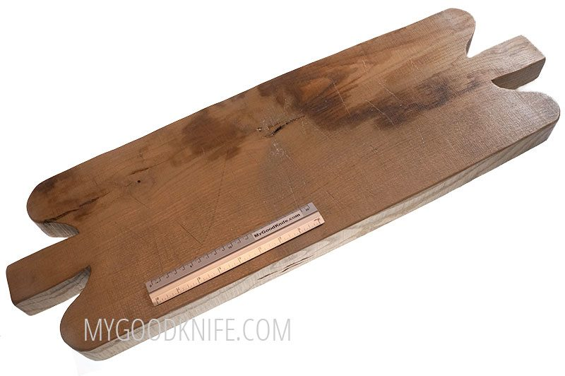 Photo #2 EtuHOME Double Handled Reclaimed Chopping Block