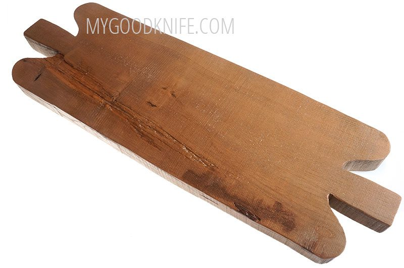 Valokuva #4 EtuHOME Double Handled Reclaimed Chopping Block