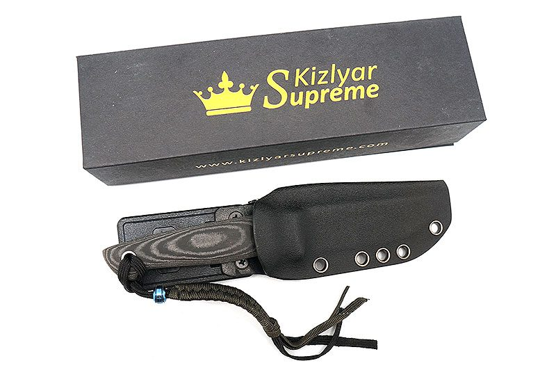 Photo #3 Kizlyar Supreme Santi AUS-8 Black