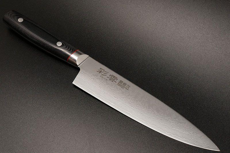 Photo #7 Saiun 9005 Seki Kanetsugu Chef's knife