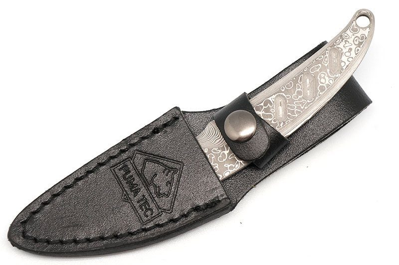 Photo #3 PUMA TEC damascus belt knife (269405)