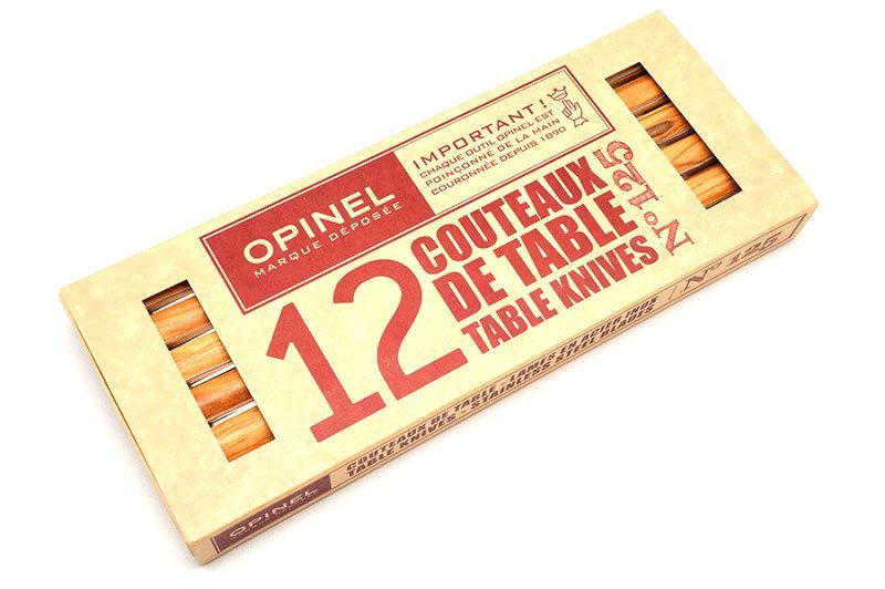 Photo #2 Opinel Bon Appetit Pro N°125 box of 12  (001583)