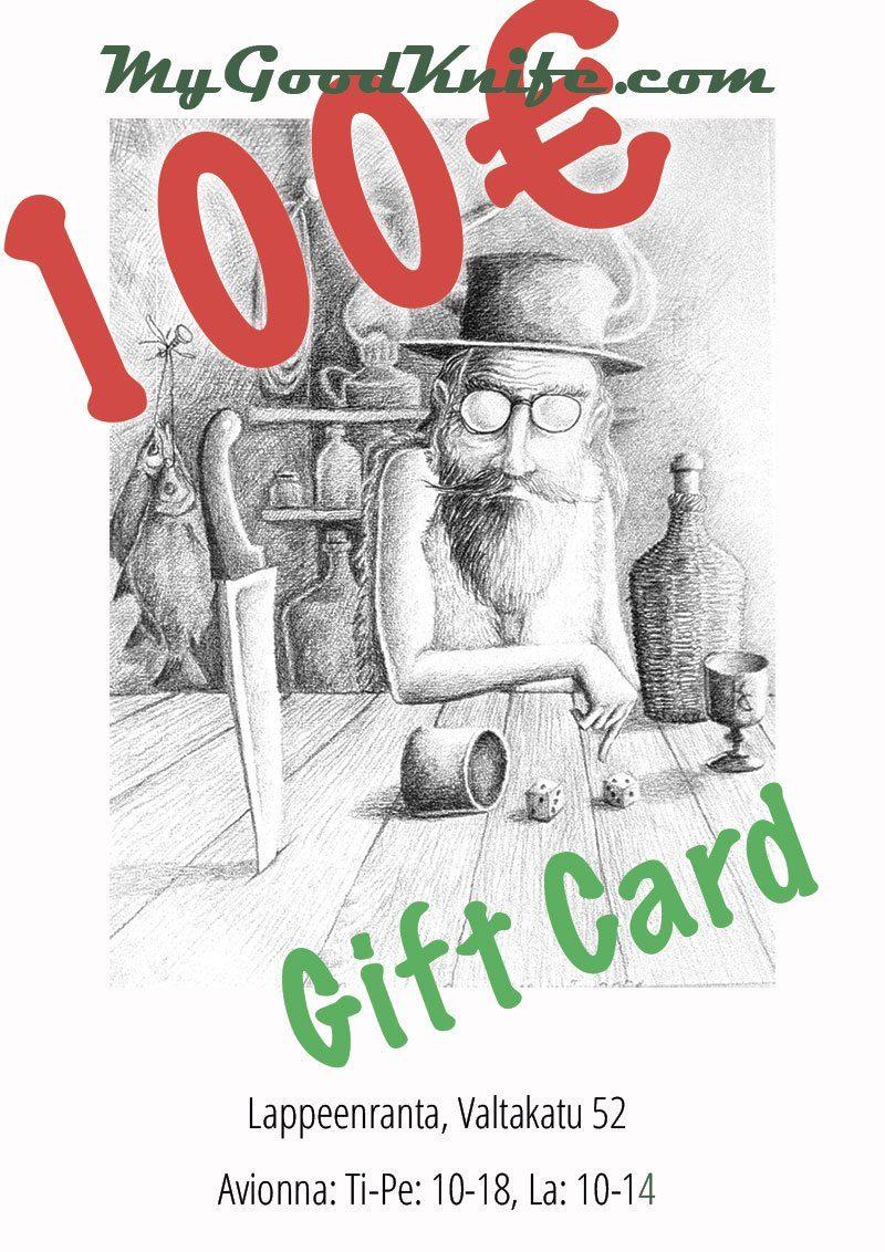 Фотография #1 Виртуальная подарочная карта на 100 евро Gift100