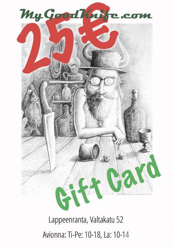 Photo #1 Gift Card 25 euro