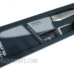 Photo #1 Global Set: Cook knife and Sharpener (G-2220GB)