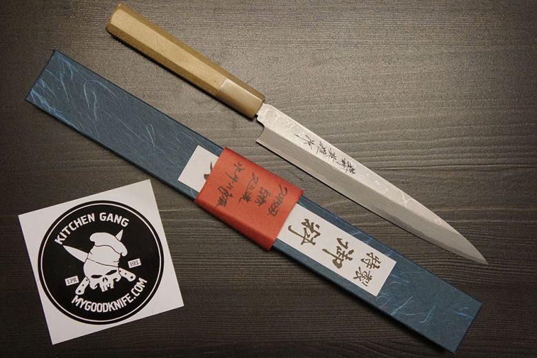 Valokuva #4 Yanagi Hideo Kitaoka Sushi veitsi