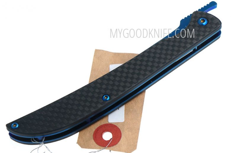 Фотография #5 Hikari Folder, carbon fiber handle